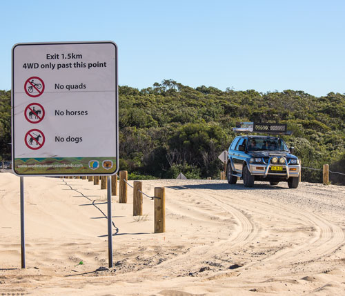 The Worimi Conservation Lands - driving-on-the-beach - stockton - newcastle